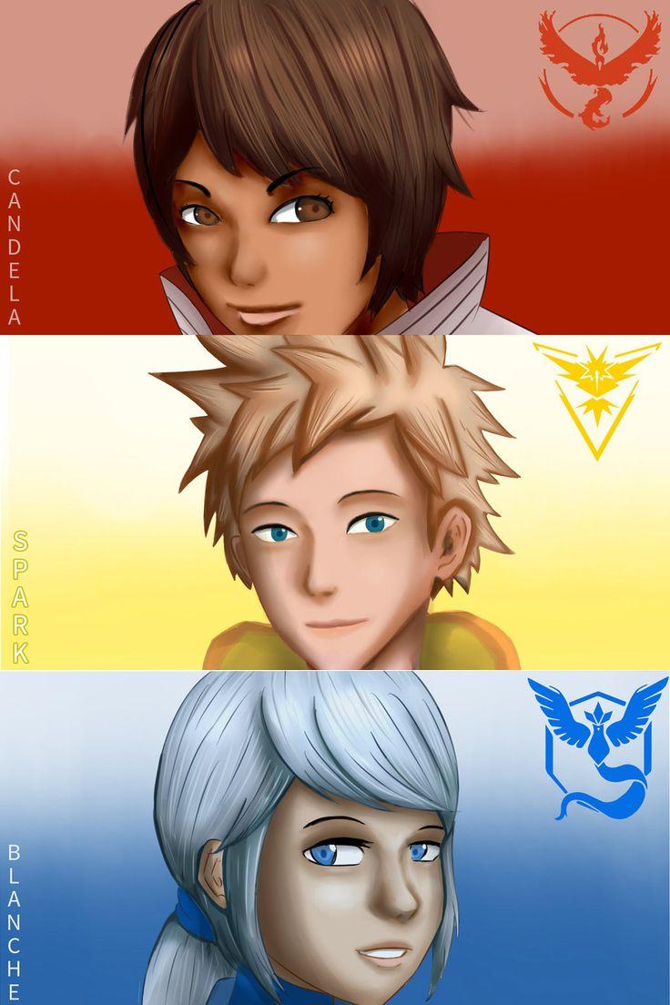 All leader Pokemon Go by Danbari on DeviantArt