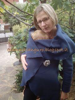 mamma canguro...un altro modo di .......... essere mamma: Portare in inverno: tutorial giacca per portare i piccoli, per la gravidanza e non solo....