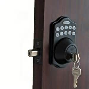 Search Electronic keyless deadbolt door lock. Views 113115.