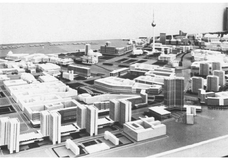 Ost-Berlin, Planung Zentrum, 1969