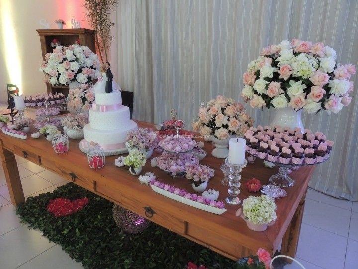 Decoração rosa de Chácara Amor Eterno | Foto 47