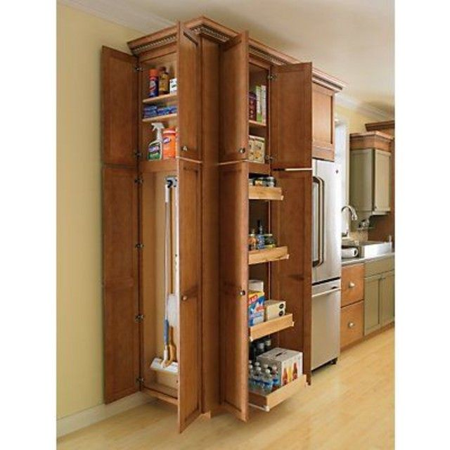 Pantry Vs Broom Closet Allocation Kitchens Forum Gardenweb Kitchens Katie Pinterest