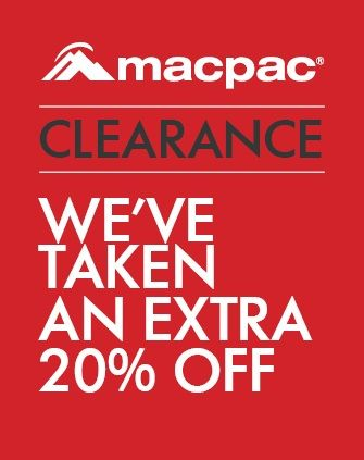 Bargain - Extra 20% OFF - Click Monday Clearance @ Macpac