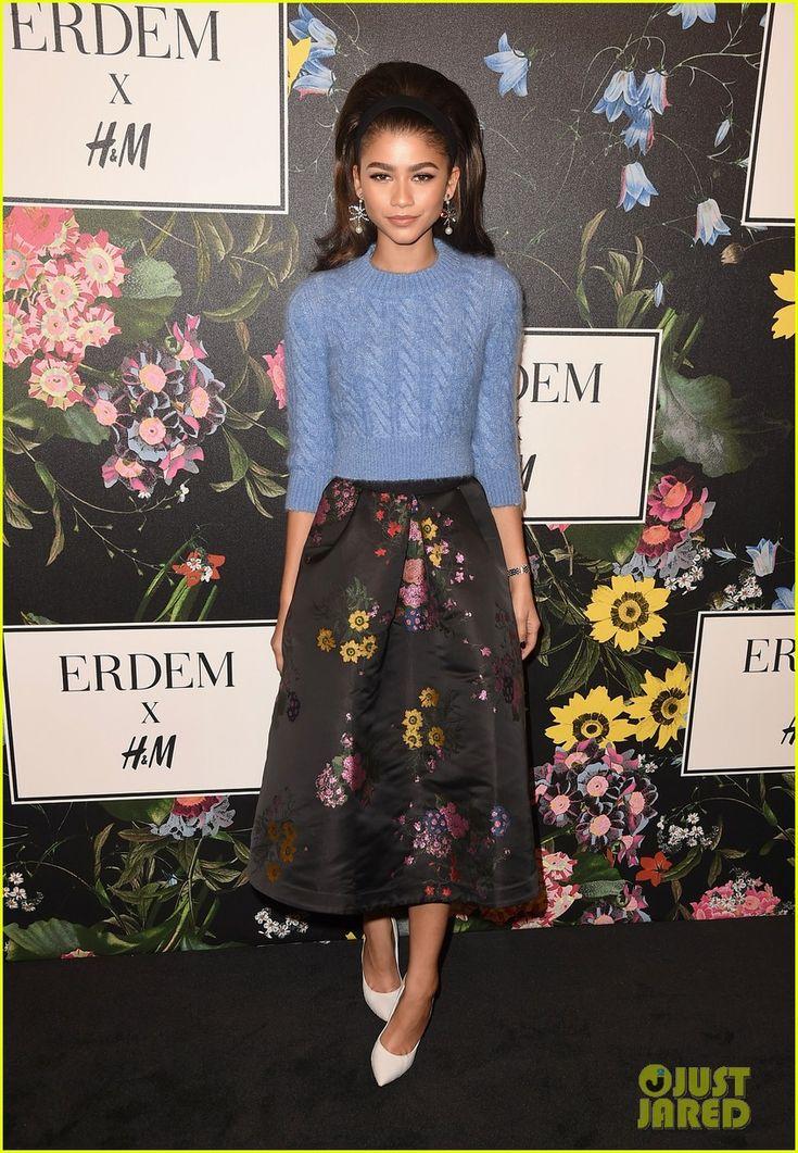 Kate Bosworth, Zendaya, Kate Mara & More Stars Celebrate at H&M x Erdem Runway Show & Party!   erdem hm runway 23 - Photo