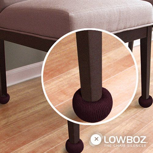 Lowboz | Floor Protection - 1 Chair Pack / BROWN