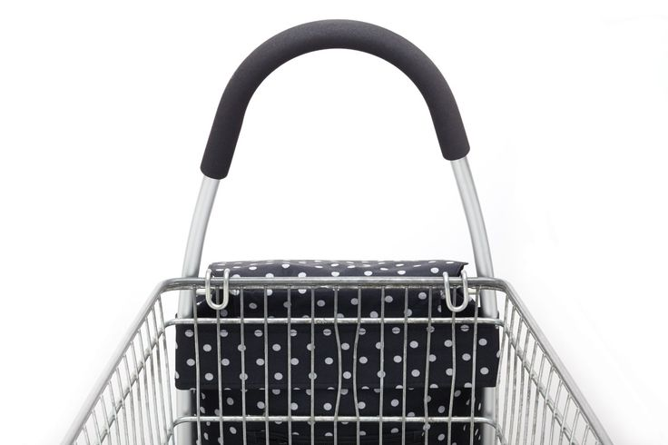 Cool Movers Kitchen Craft Aluminium Folding Shopping Trolley - hooked on supermarket trolley