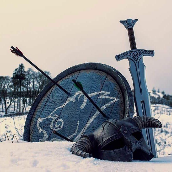 Windhelm Gear #games #Skyrim #elderscrolls #BE3 #gaming #videogames #Concours #NGC
