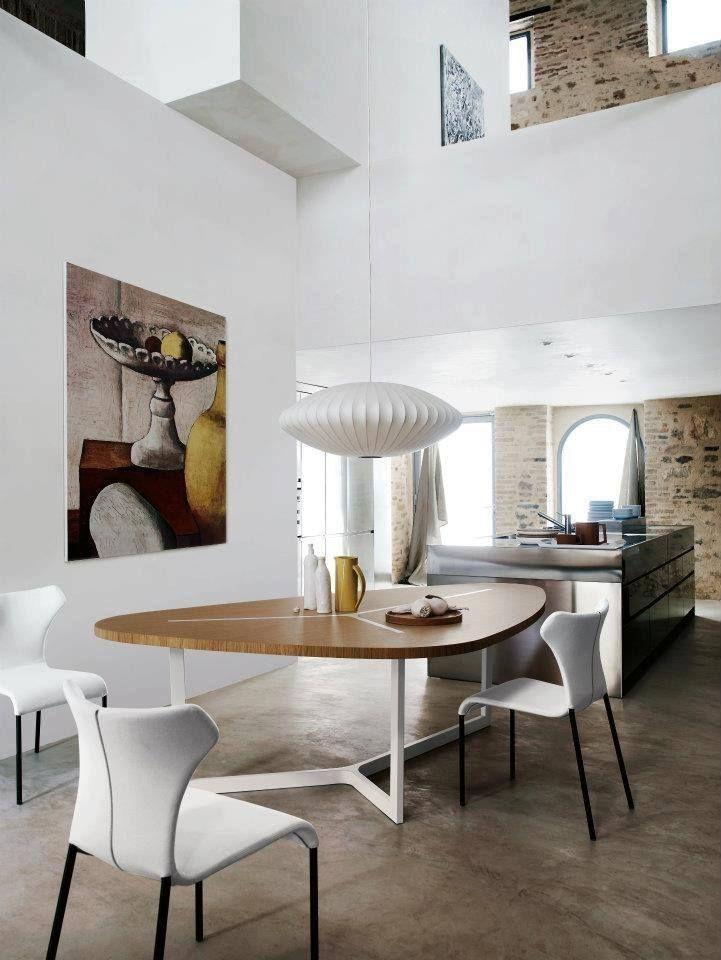 via InteriorArt | George Nelson Saucer Lamp | http://modernica.net/lighting/