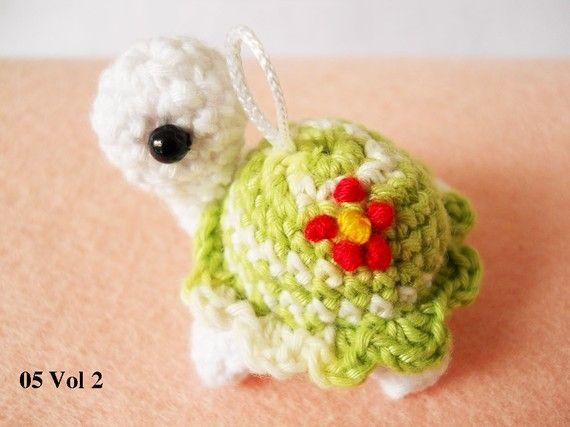 Amigurumi Tortoise Tutorial : Best amigurumi tartarughe varie images toys