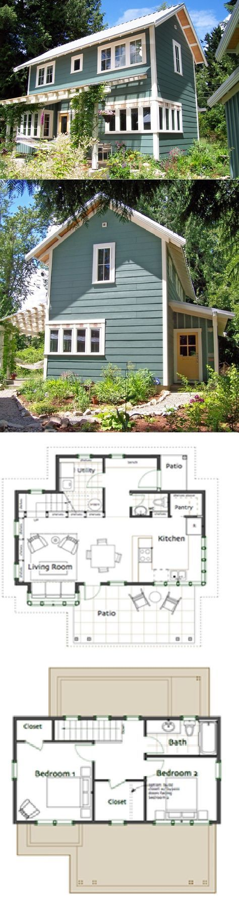 My small house Ross Chapin Architects