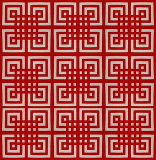 Quilt Inspiration: Free pattern day! Red and white quilts (part 1).  True Lover's Knot by Mimi Shimp.Red And White, Quilt Inspiration, Quilt Ideas, Quilt Design, Free Pattern, Beautiful Quilt, White Quilts, Quilt Pattern, Colors Quilt