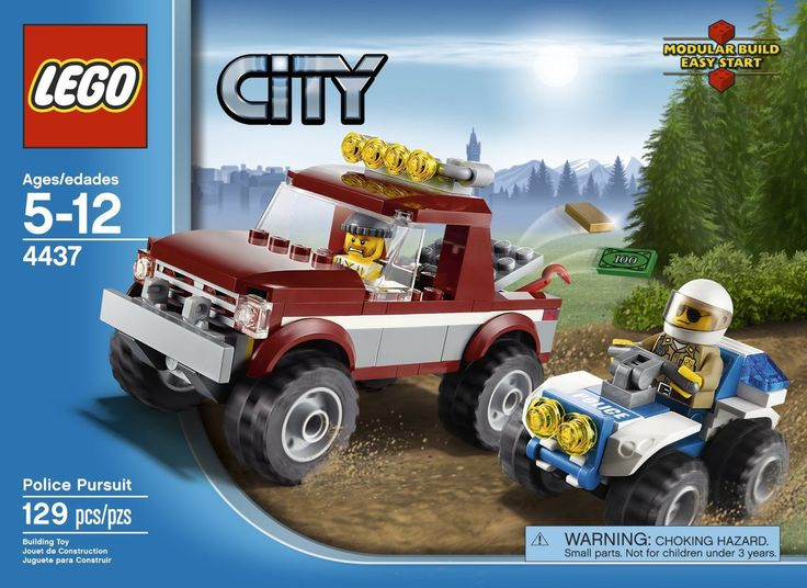 LEGO City Police Pursuit 4437 - Discount Toys USA