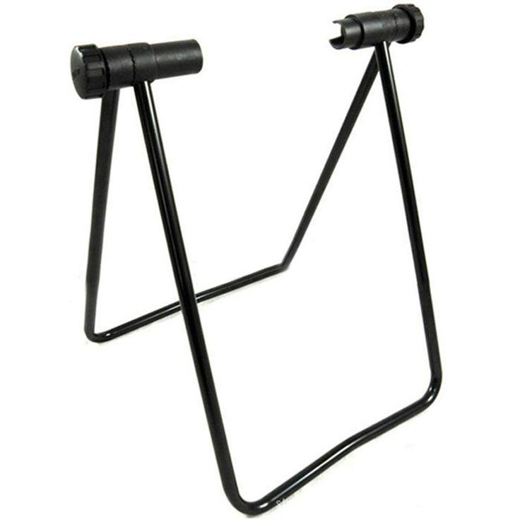 Metallo di alluminio Della Bici Della Bicicletta Ciclismo Riparazione Display Mozzo Ruota pieghevole di Stoccaggio Piano Stand Rack Parcheggio Supporto Sport All'aria Aperta
