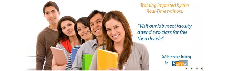 SAPTAC - A Global SAP Training Institute academy offering SAP Online Training in Bangalore. www.saptac.com