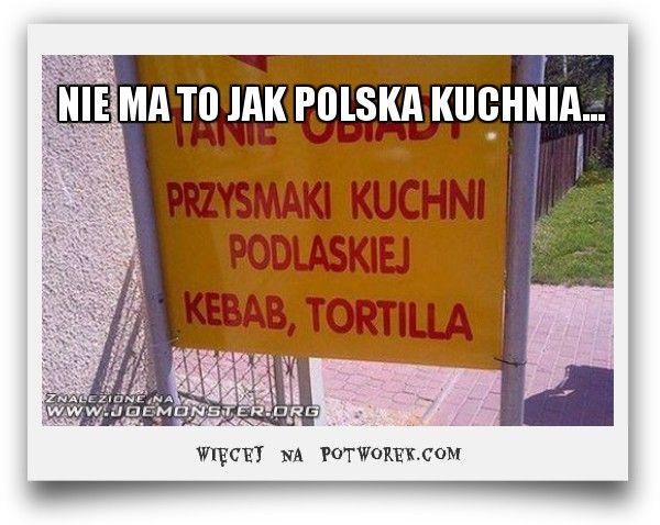 NIE MA TO JAK POLSKA KUCHNIA... potworek.com