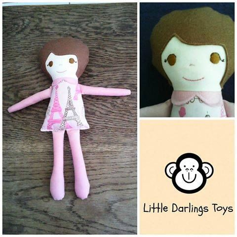 Handmade by Jenny at Little Darlings Toys This cute little girl is called Paris.