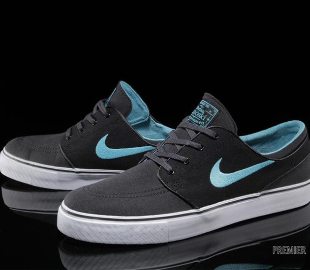 Nike SB Stefan Janoski Low-Anthracite-Gamma Blue
