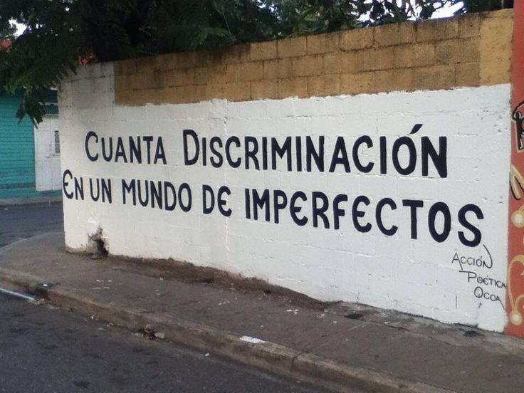 #rima #calle #discriminación