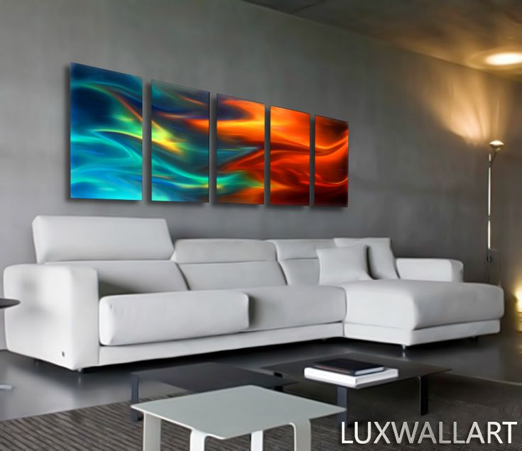 Large Abstract Metal Wall Art Decor Fire and ice Blue and Red by LuxWallArt on Etsy https://www.etsy.com/listing/235075510/large-abstract-metal-wall-art-decor-fire