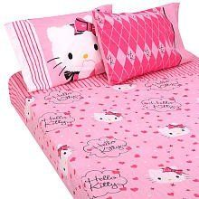 Hello Kitty Bed Sheets - We Love Kitty
