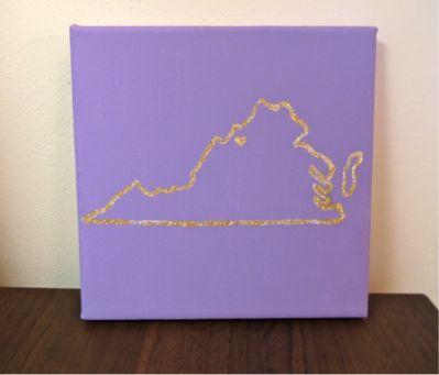 DIY: JMU Map Print | Her Campus