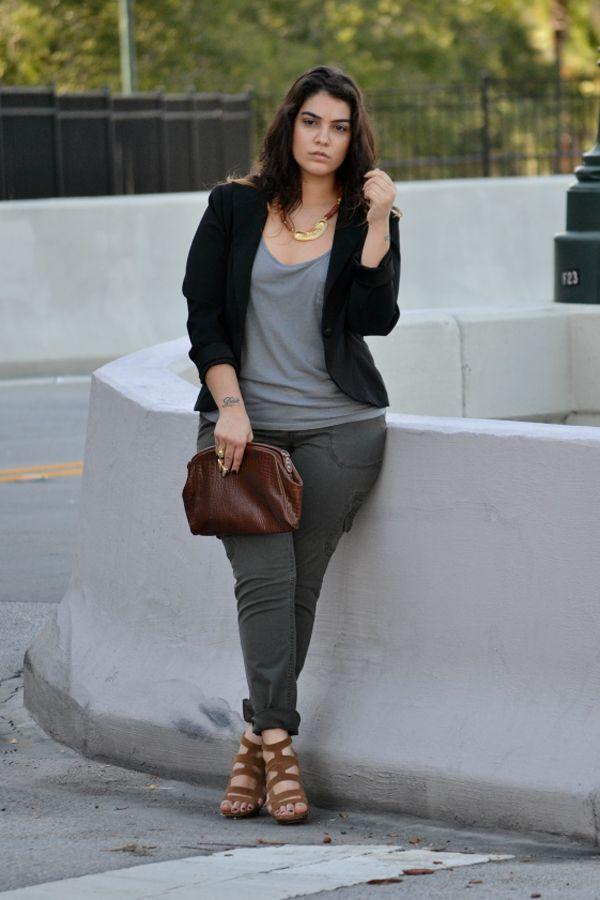 Streetstyle: Mode für kurvige Frauen