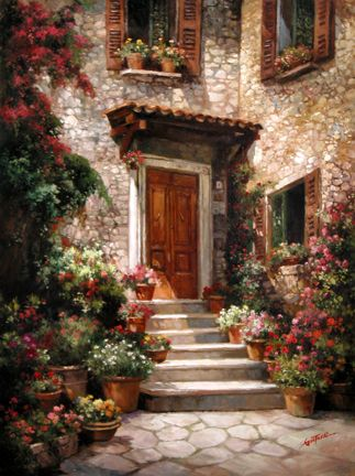 The Art of Paul Guy Gantner - Mont Boron Hideway
