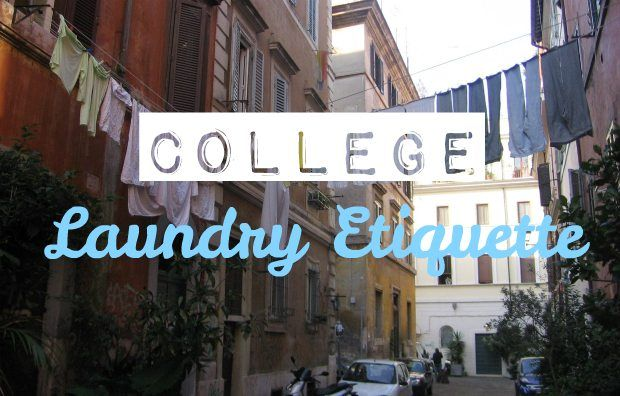College Laundry Etiquette College is full of changes, the biggest being you are living away from your parents and have to become independent (that is, if you are going away for college)! For a lot of college kids, this means that you have to start doing things like grocery shopping and doing your own laundry. Even if you... Read More at http://www.chelseacrockett.com/wp/lifestyle/college-laundry-etiquette/. Tags: #College, #CollegeAdvice, #CollegeLaundryTips, #CollegeT