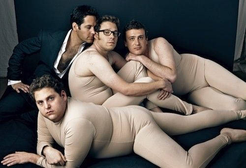 JONAH HILL, PAUL RUDD, SETH ROGEN, and JASON SEGEL