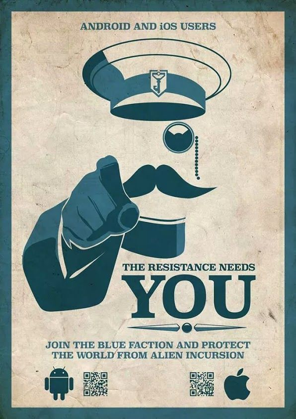 Ingress Resistance Poster