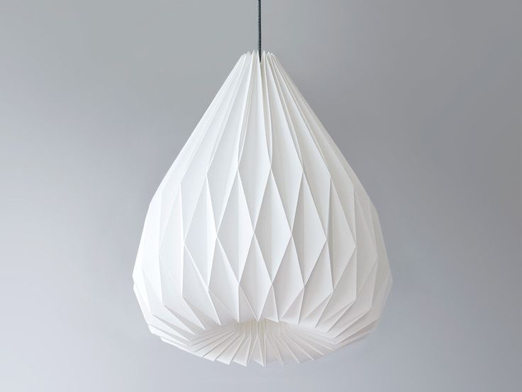 The 25 best origami lampshade ideas on pinterest origami lamp snowdrop xl origami lampshade by werkdepot on etsy httpsetsy aloadofball Images
