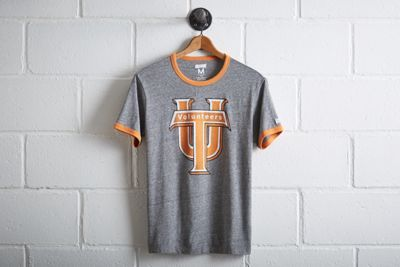 Tailgate Men's Tennessee Vols Ringer T-Shirt by  American Eagle Outfitters | Better come prepared to Neyland Stadium. The Volunteers have an all-time winning record of 447 games, the most home wins in college football history.Better come prepared to Neyland Stadium. The Volunteers have an all-time winning record of 447 games, the most home wins in college football history. Shop the Tailgate Men's Tennessee Vols Ringer T-Shirt and check out more at AE.com.