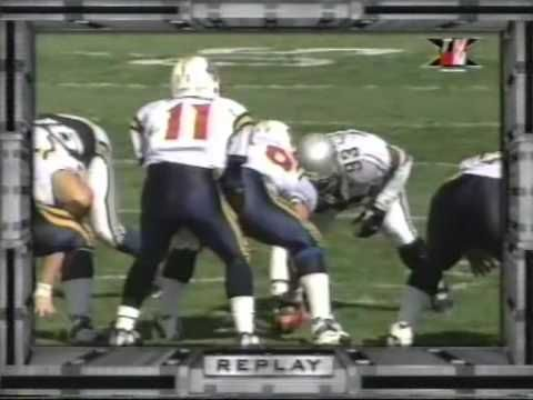 Tommy Maddox XFL Football