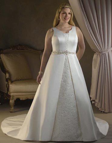 Melhores vestidos de noiva para gordas