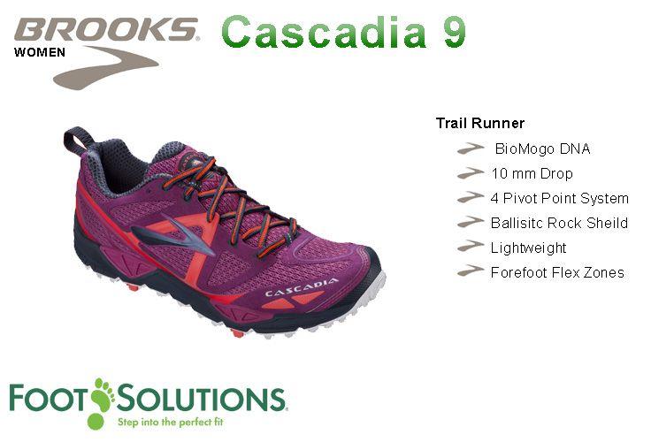 Brooks Cascadia 9 - Women   //  Arriving Spring 2014