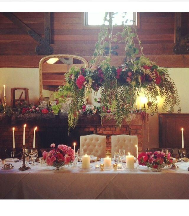 Roberts Restaurant Rustic wedding reception