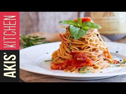 Classic Tomato Spaghetti | Akis Petretzikis! Follow this recipe step-by-step and taste the most classic but fulfilling tomato spaghetti ever!!!