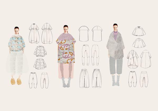 Fashion Sketchbook - technical fashion drawings; fashion design portfolio // Barbara Eck