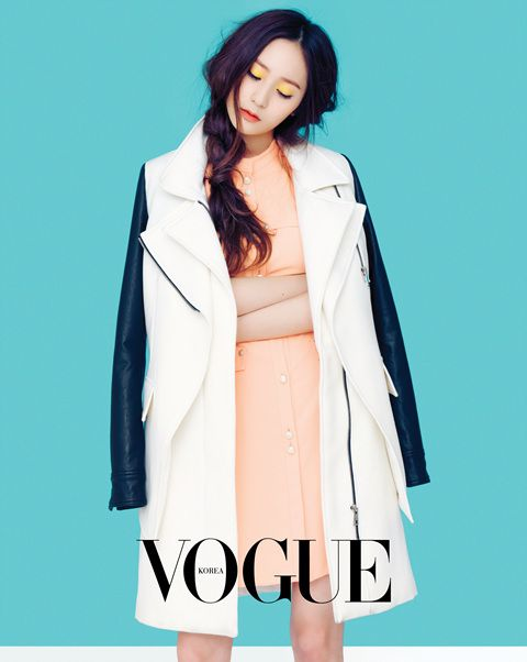"Krystal Radiates Spring in Photoshoot With ""Vogue"""