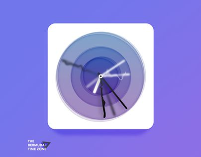 """Check out new work on my @Behance portfolio: """"Bermuda △ Time Zone app icon (for fun)"""" http://be.net/gallery/31658329/Bermuda-Time-Zone-app-icon-(for-fun)"""