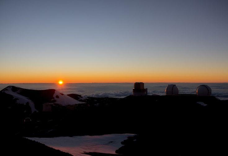 Der Vulkan Mauna Kea auf Big Island