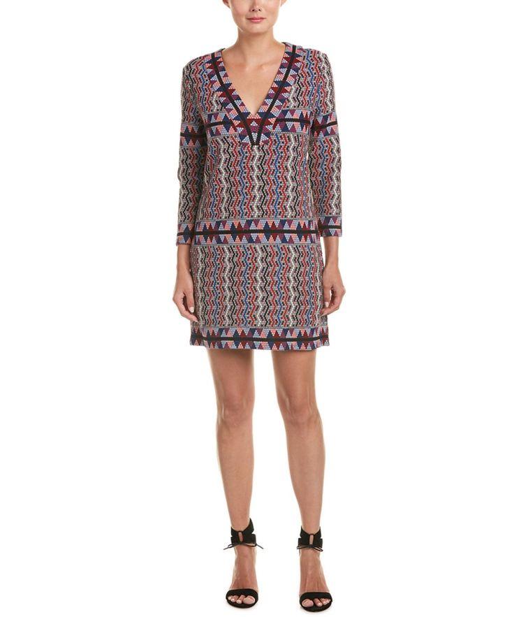 BCBGMAXAZRIA Bcbgmaxazria Printed Knit Shift Dress. #bcbgmaxazria #cloth #