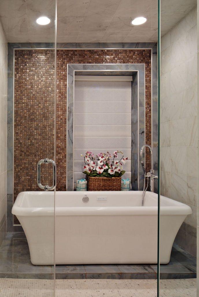30 Creative Bathroom Tile Ideas You Ll