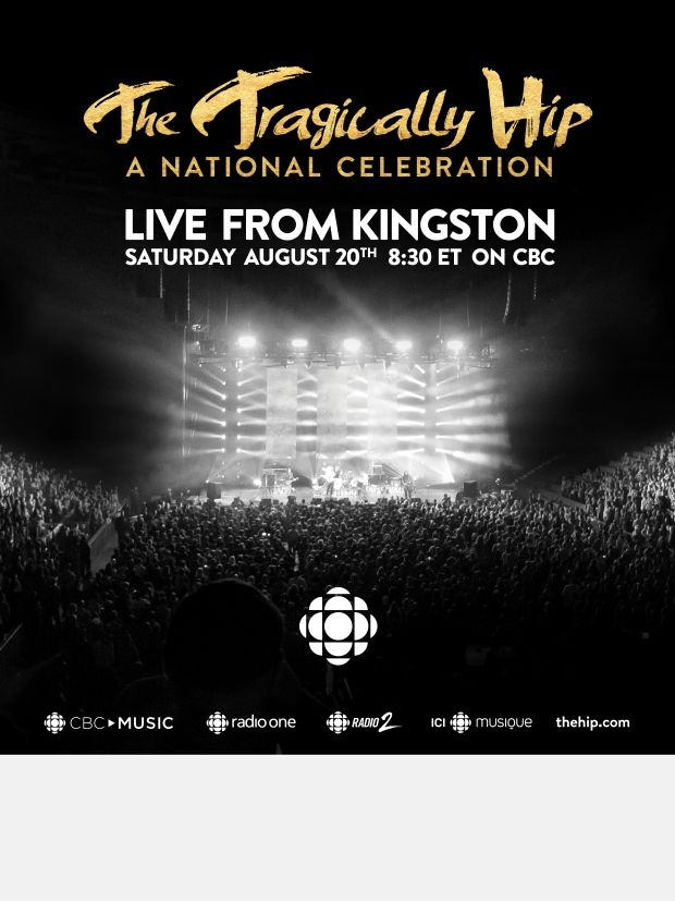 Tragically Hip Screening on CBC