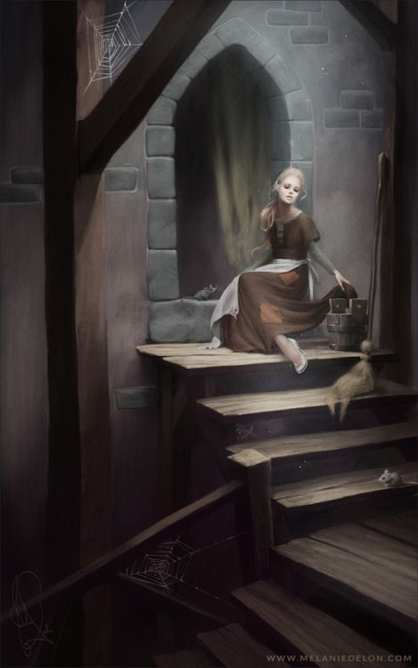 Next one in my Disney princess series : Cinderella.  WEB | SHOP | ARTBOOK | FB
