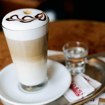 Latte Macchiato, perfect breakfast