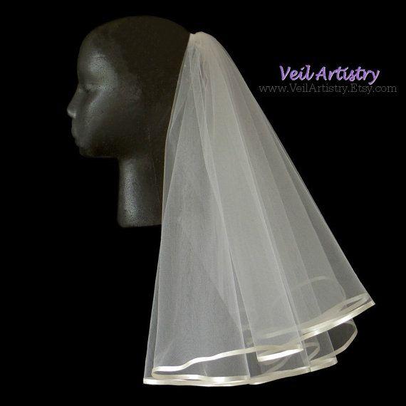 Voile de mariée courte Radiance voile voile de par VeilArtistry