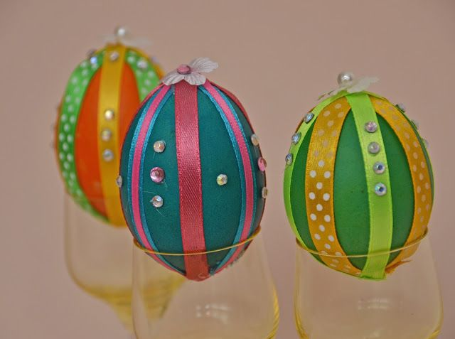 Baiciurina Olga's Design Room: Украшение пасхальных яиц-Easter eggs decoration