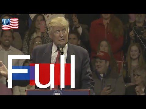 News Alert , Donald Trump Latest News Today 12/01/16 Speech , Holds Victory Rally in Cincinnati,Ohio - YouTube