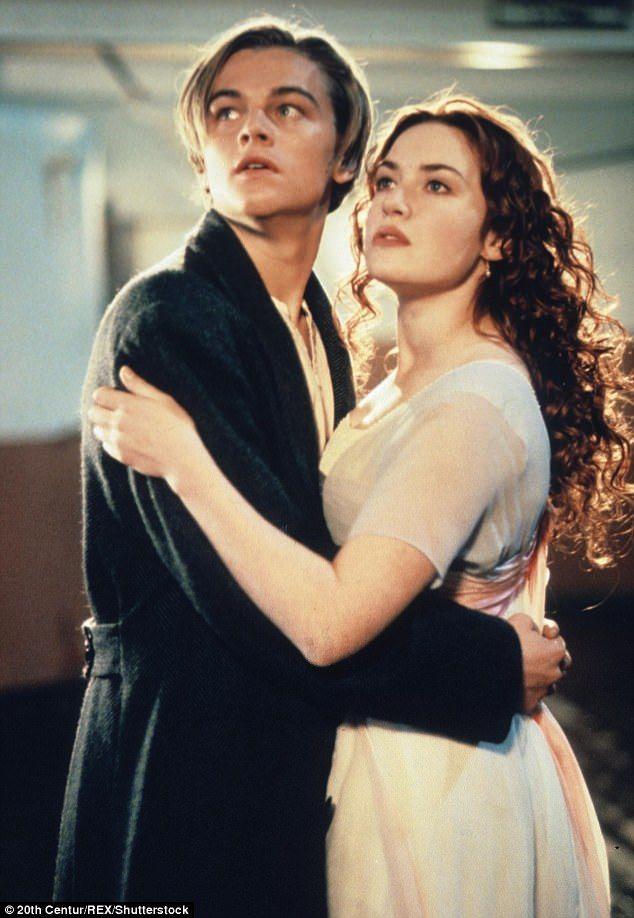 Leonardo DiCaprio & Kate Winslet in Titanic 1997 | Daily Mail Online